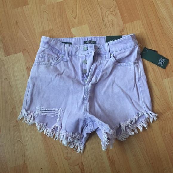 Wild Fable Frayed Hem Jean Shorts